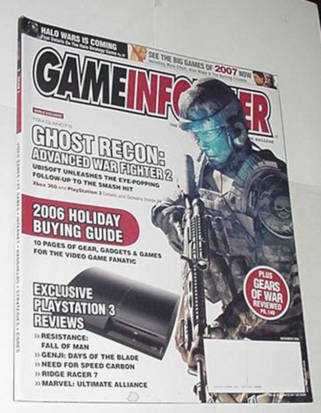 Game Informer 164 NM Dec 2006 Ghost Recon Advanced