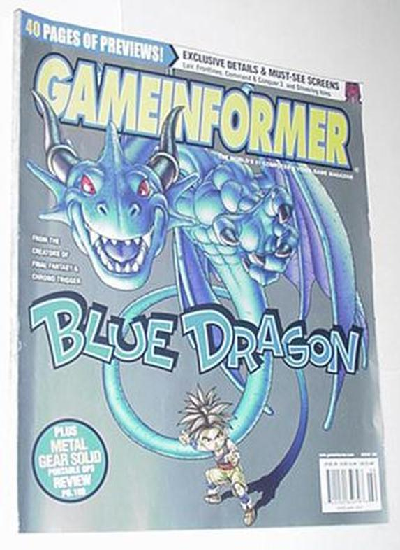 Game Informer 166 NM Blue Dragon Cvr Halo 3 Gothic