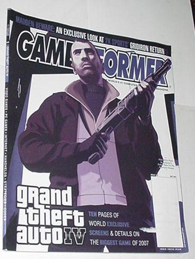 Game Informer 169 NM Grand Theft Auto IV Niko Cove