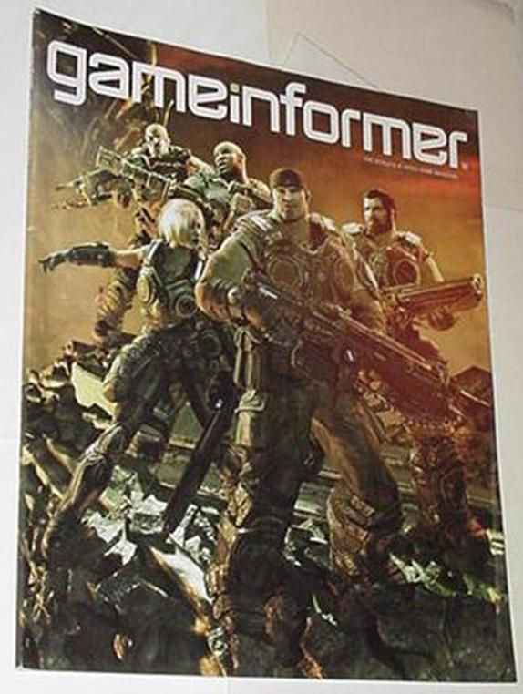 Game Informer 206 NM Gears of War 3 Cvr