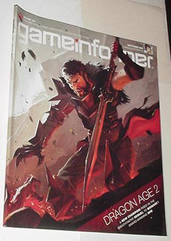 Game Informer 208 NM Dragon Age 2 Cvr