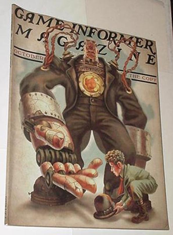 Game Informer 210 NM Bioshock Infinite Cvr