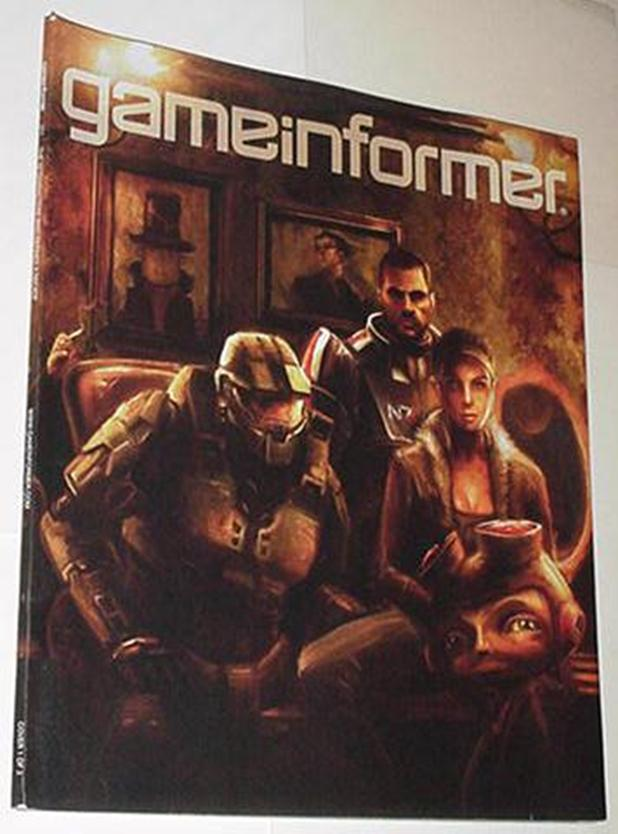 Game Informer 212 NM Mass Effect Half Life 2 Halo
