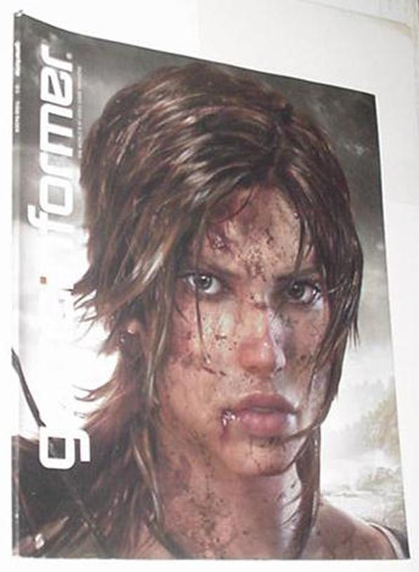Game Informer 213 NM Lara Croft Tomb Raider Cvr