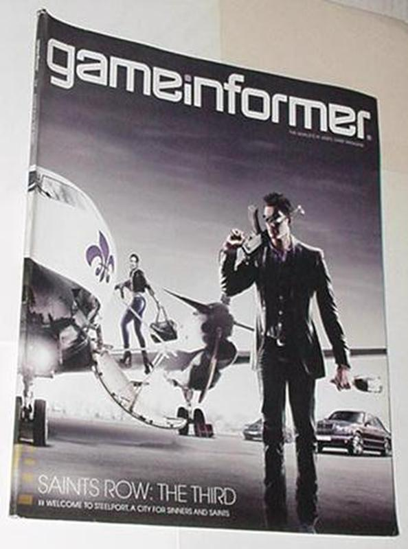 Game Informer 216 Saints Row The Third Cvr