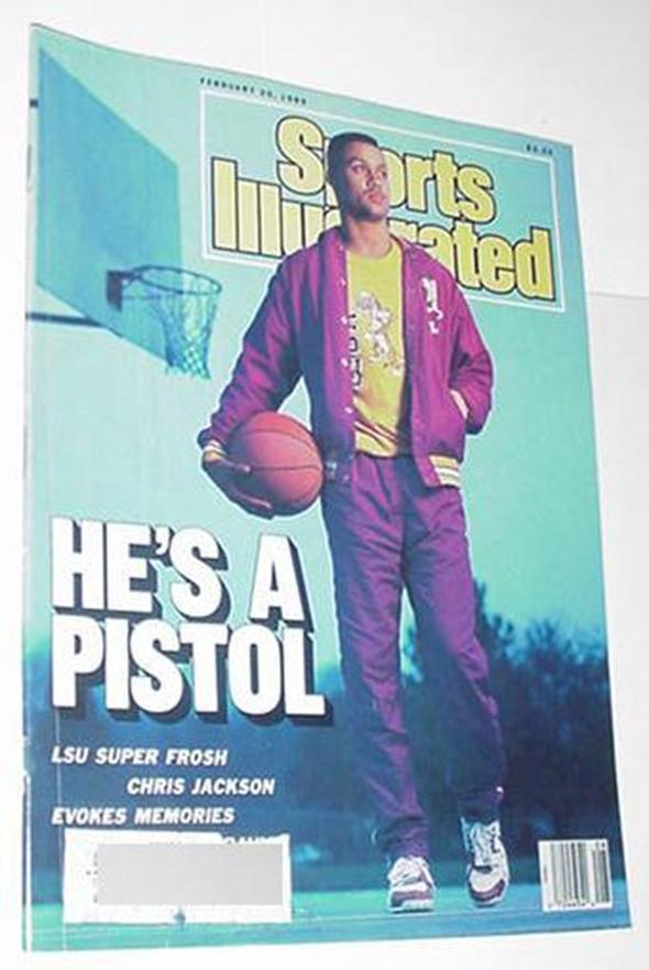 Sports Illustrated Feb 20 1989 Chris Jackson Norm