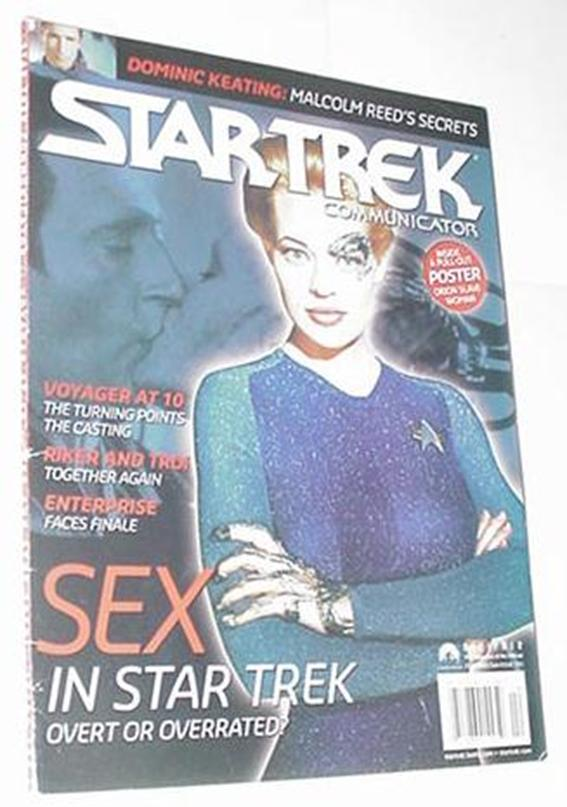 Star Trek Communicator 155 Dominic Keating (cover
