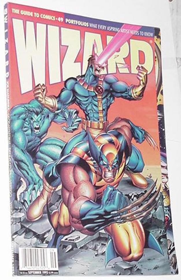 Wizard 49 X-Men Joe Madureira Cover Ultimates