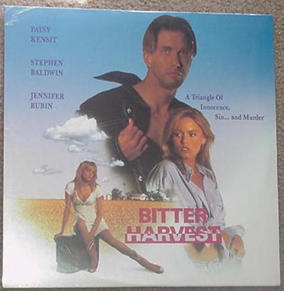 Bitter Harvest LD Stephen Baldwin SEALED Laserdisc
