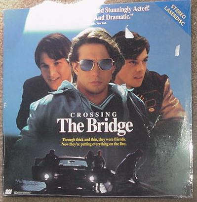 Crossing the Bridge LD Stephen Baldwin Laserdisc