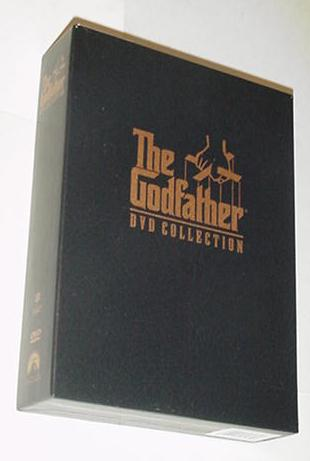 The Godfather DVD Collection All 3 Movies +EXTRAS