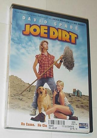 Joe Dirt DVD David Space 2001 WidescreenFullscreen