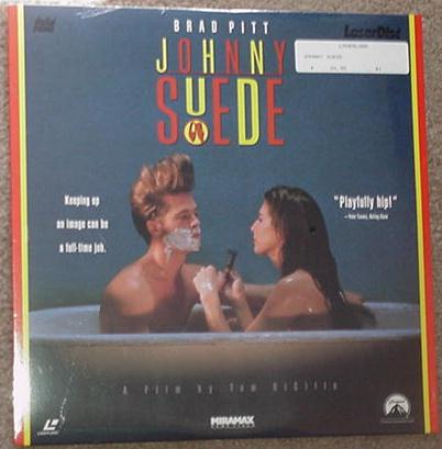 Johnny Suede LD Brad Pitt SEALED Laserdisc