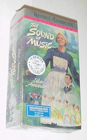 Sound of Music VHS Silver Anniversary Robert Wise