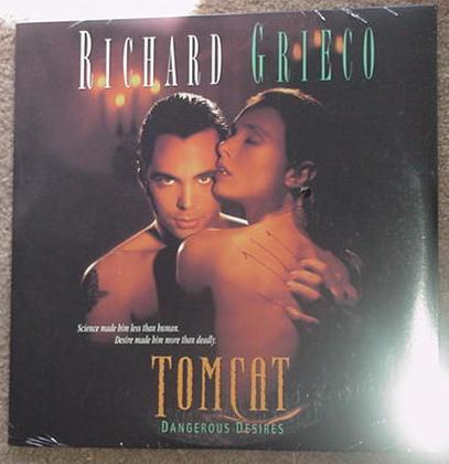 Tomcat Dangerous Desires LD Richard Grieco SEALED