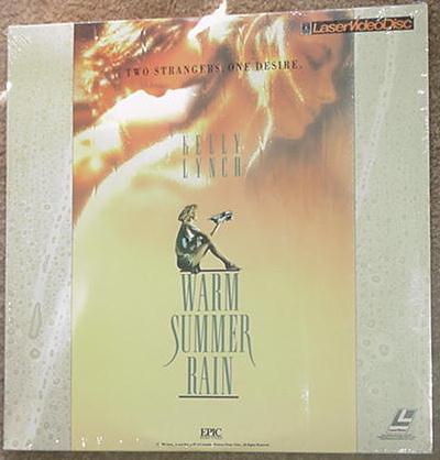 Warm Summer Rain LD Kelly Lynch SEALED Laserdisc