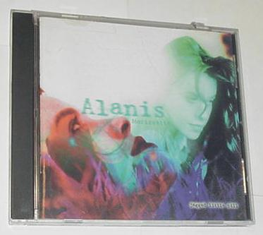 Alanis Morissette Jagged Little Pill CD