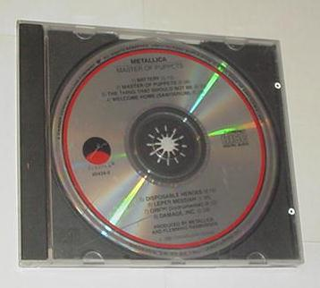 Metallica Master of Puppets CD (generic case)