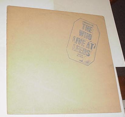 The Who Live at Leeds LP DL-79175 1970 w/ inserts!