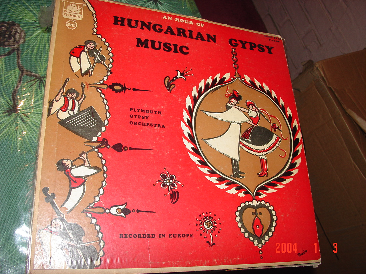 An Hour of Hungarian Gypsy Music LP