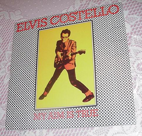 Elvis Costello My Aim Is True LP JC35037 1977