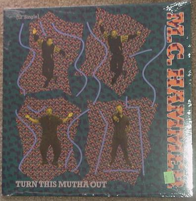 M.C. Hammer LP Turn This Mutha Out SEALED