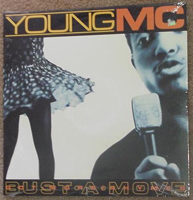 Young MC LP Busta Move SEALED Old School Rap