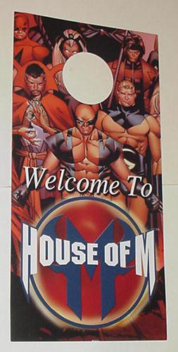 House of M Checklist Door Hanger Olivier Coipel