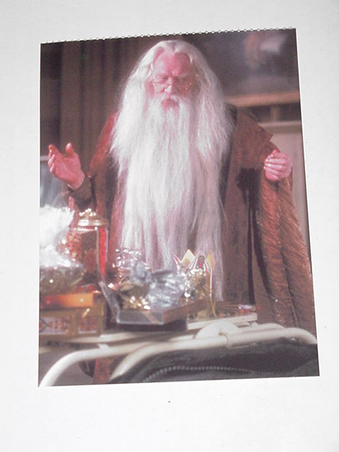 Harry Potter Sorcerer's Stone Postcard Dumbledore