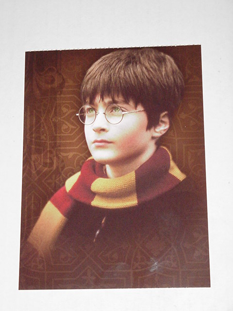 Harry Potter Sorcerer's Stone Postcard Class Pic