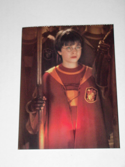 Harry Potter Sorcerer's Stone Postcard Quiddich
