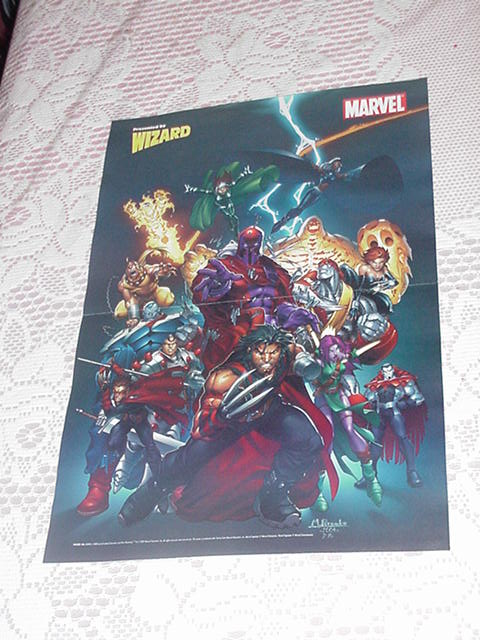 Age of Apocalypse Poster NEW Mark Brooks Blink