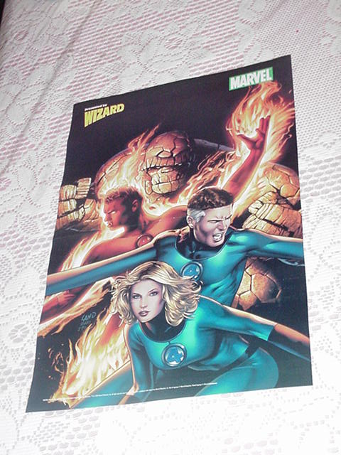 Fantastic Four Poster Greg Land Art! Movie 2005