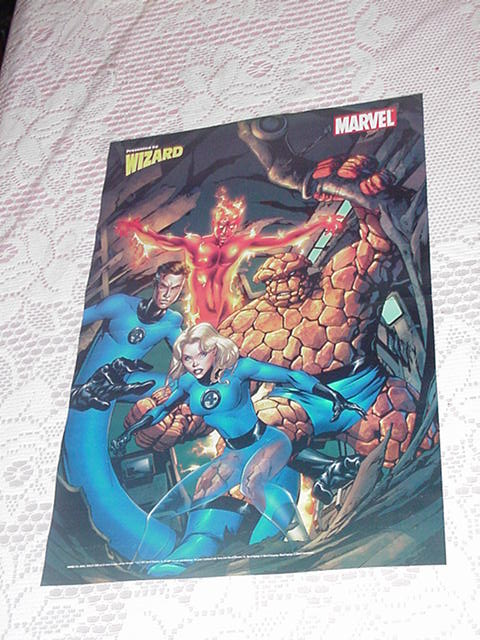 Fantastic Four Poster Mike McKone Brand New NM!