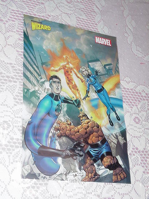 Fantastic Four Poster Mike Wieringo Comic Artist