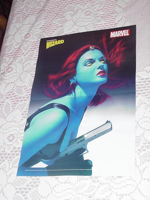 Mystique Poster Mike Mayhew NEW 2005