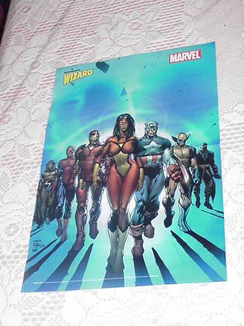 New Avengers Poster 2 David Finch Spider-Woman