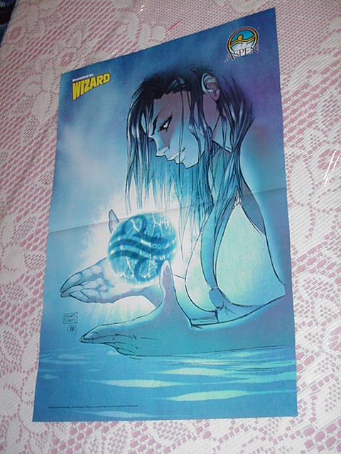 Fathom Poster #2 Aspen Michael Turner Superman Art