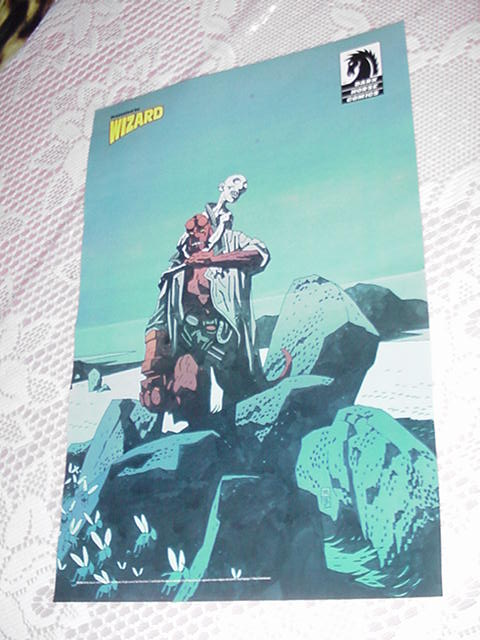 Hellboy The Corpse Poster Mike Mignola Movie DVD