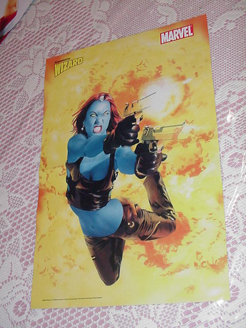 Mystique Guns Poster Mike Mayhew X-Men X3