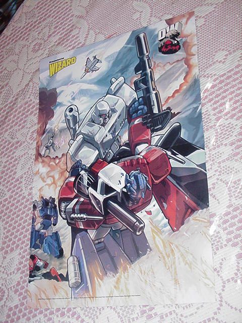 Optimus Prime Megatron Poster Pat Lee Transformers