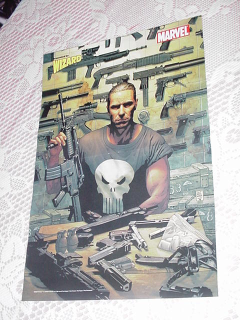 Punisher Max Poster Tim Bradstreet w Arsenal
