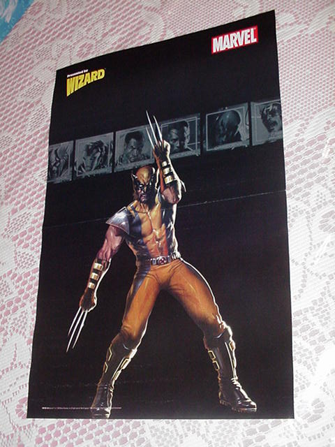 Secret War Wolverine Poster Gabriele Dell'Otto