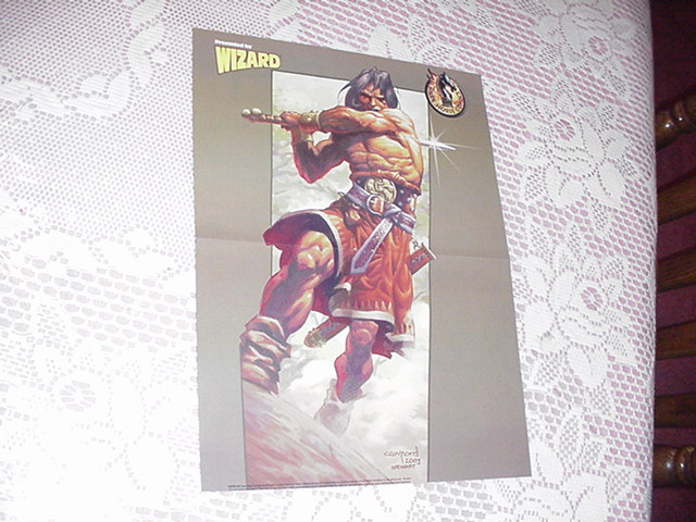 Conan The Barbarian Poster Cary Nord Savage