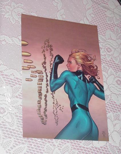 Invisible Woman Poster #2 Steve McNiven