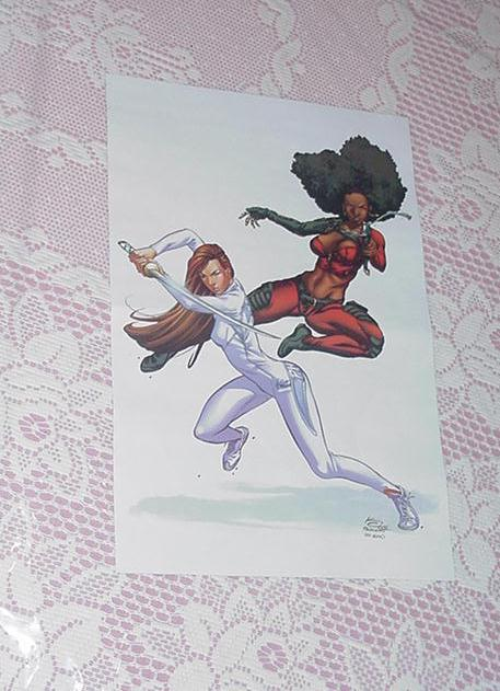 Misty Knight + Colleen King Poster Khary Evans