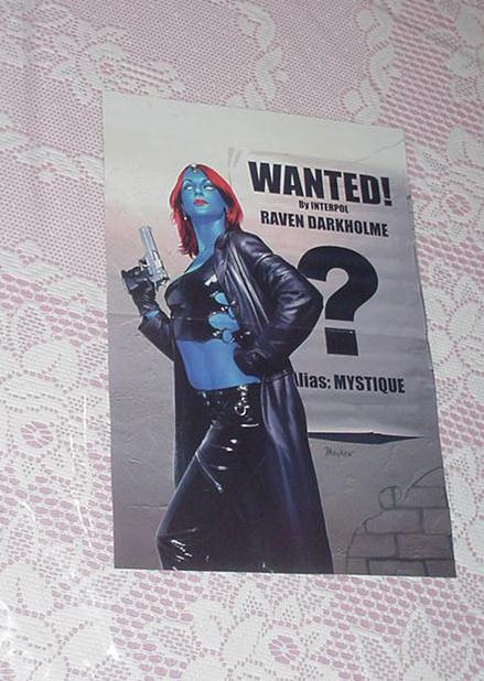 Mystique Wanted Poster # 5 Mike Mayhew
