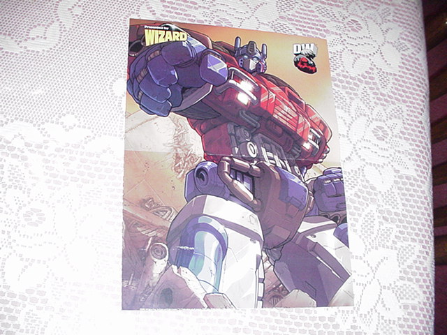 Optimus Prime Poster Alex Milne Transformers
