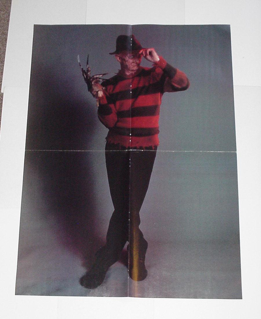 A Nightmare On Elm Street Poster # 2 Fred Krueger