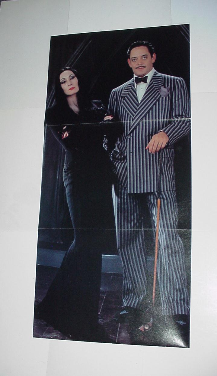 Addams Family Poster # 1 Raul Julia Angel Houston
